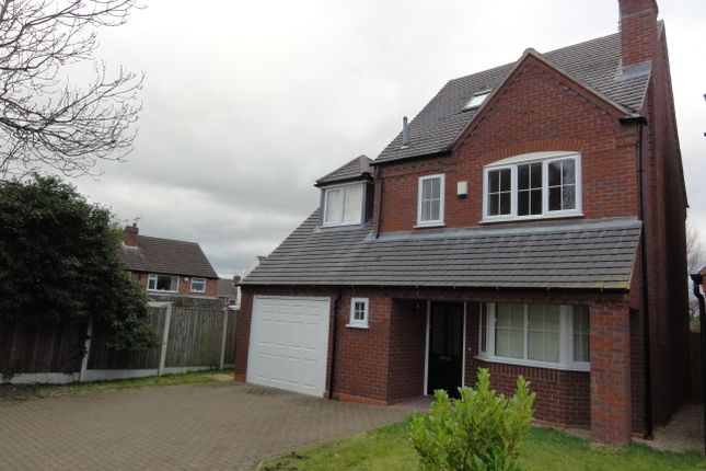 Thumbnail Detached house to rent in Mirbeck Close, Finchfield, Wolverhampton