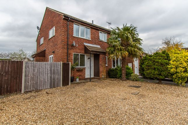 Thumbnail Terraced house for sale in Willow Close, Burbage