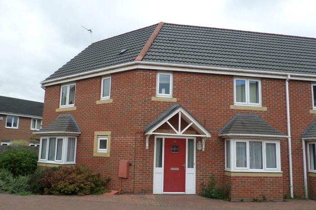 Thumbnail Semi-detached house to rent in Pacific Way, Pride Park, Derby.