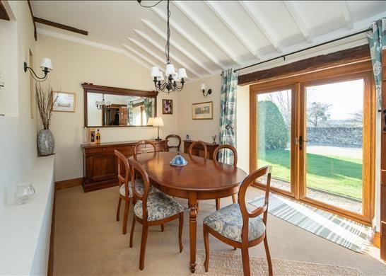 Dining Room of Bredons Norton, Tewkesbury, Worcestershire GL20