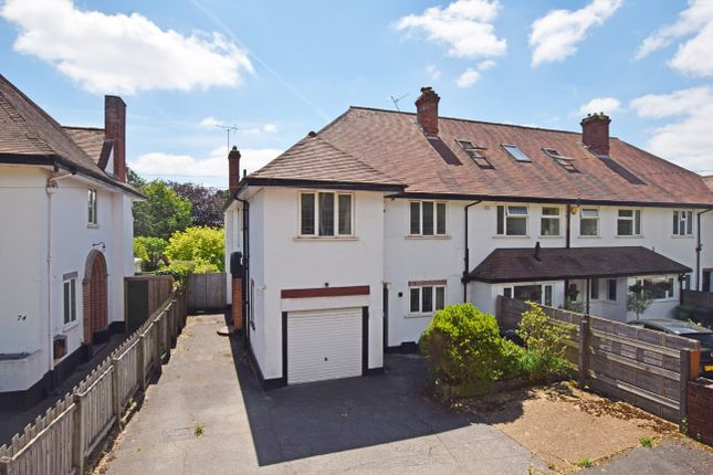 Thumbnail End terrace house for sale in Magdalen Road, St. Leonards, Exeter