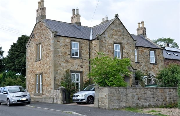 Thumbnail Semi-detached house for sale in Northumberland House, Church Lane, Wark, Northumberland.