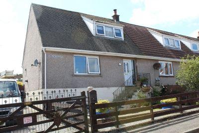 Thumbnail Semi-detached house for sale in Hamilton Crescent, Kirkcowan