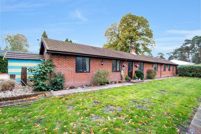 Thumbnail Detached bungalow for sale in Matchams Lane, Christchurch, Dorset