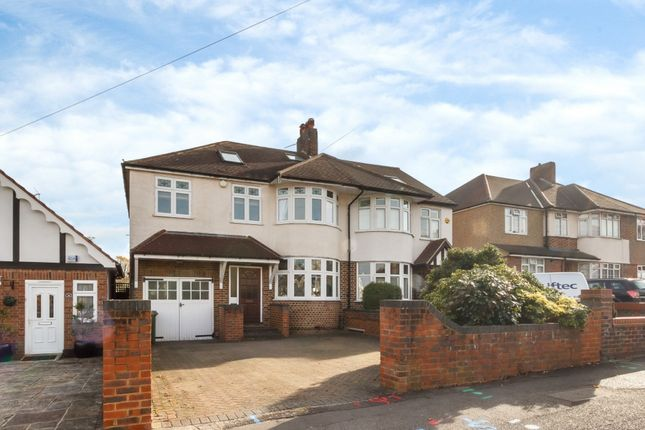 Thumbnail Semi-detached house for sale in Elgin Road, Sutton, Surrey