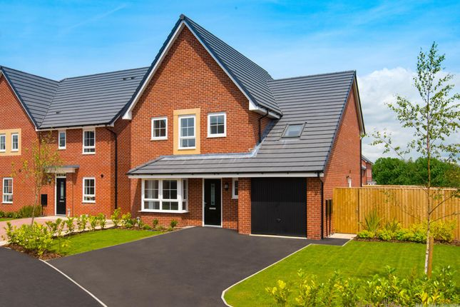 "Thumbnail Detached house for sale in ""Harborough"" at Plox Brow, Tarleton, Preston"