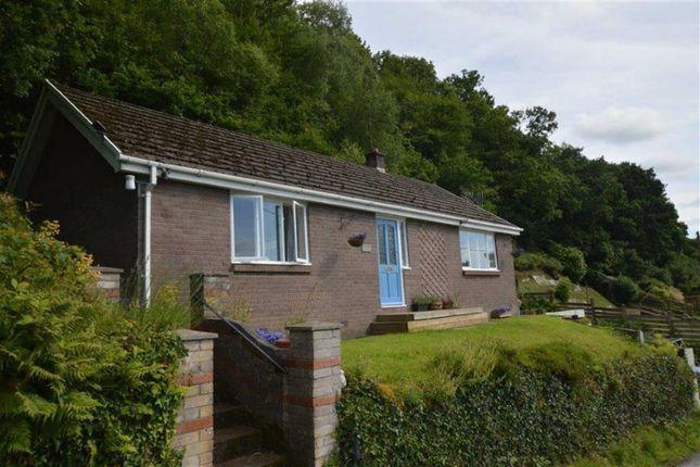 Thumbnail Detached bungalow for sale in Argraig, Brynheulog Lane, Eglwysfach, Powys