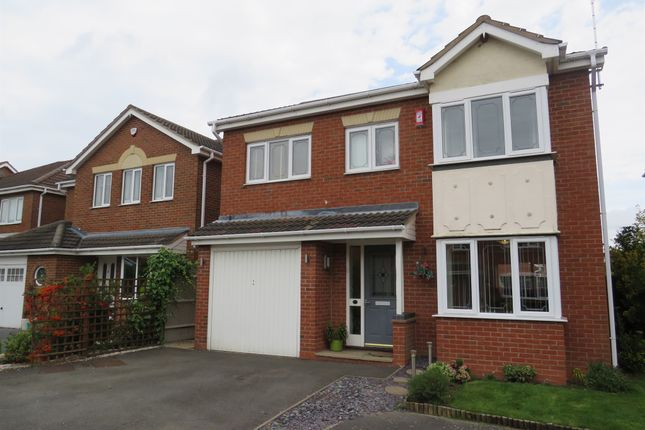 Thumbnail Detached house for sale in Plover Court, Mickleover, Derby