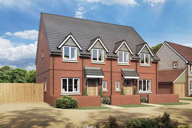Thumbnail Semi-detached house for sale in The Mimosa, Owsla Park, Bloswood Lane, Whitchurch, Hampshire
