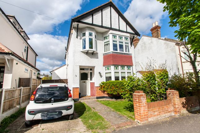 Thumbnail Detached house for sale in Tankerville Drive, Leigh-On-Sea