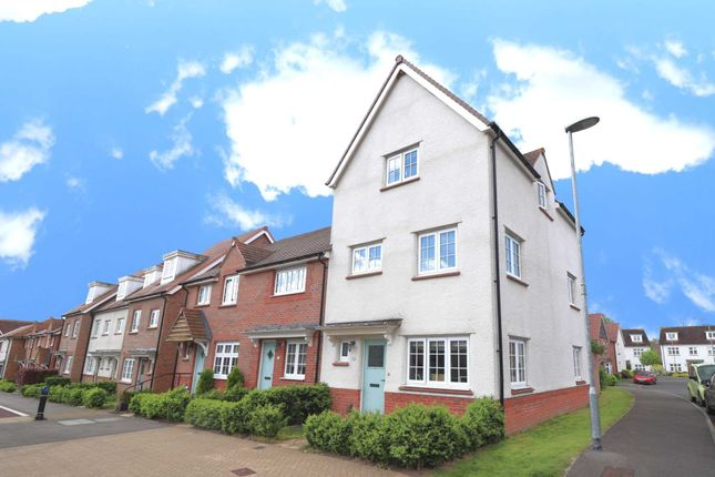Thumbnail End terrace house to rent in Eagle Way, Bracknell