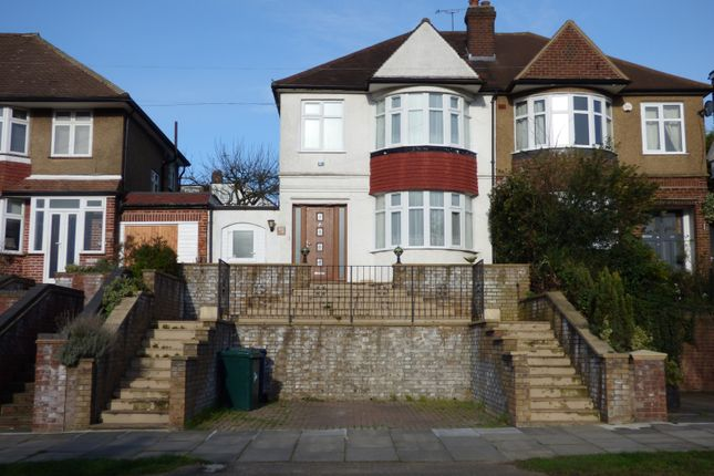 Thumbnail Semi-detached house to rent in Brookside South, East Barnet / Southgate Boarders