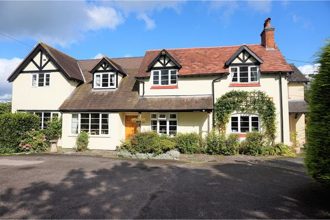 Thumbnail Detached house for sale in Fishers Lane, Burland, Nantwich