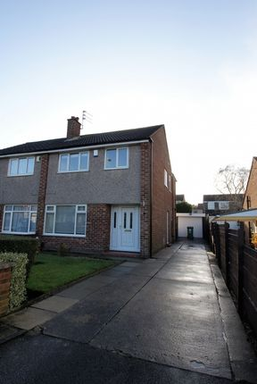 Thumbnail Semi-detached house to rent in Primley Park View, Alwoodley, Leeds