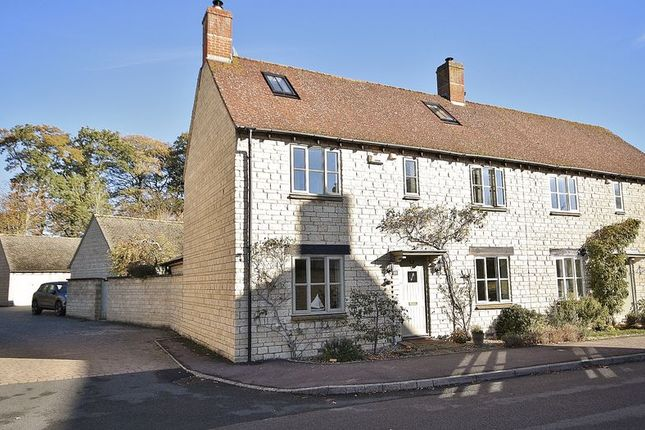 Thumbnail Semi-detached house for sale in Bradwell Village, Near Burford, Hawthorn Drive