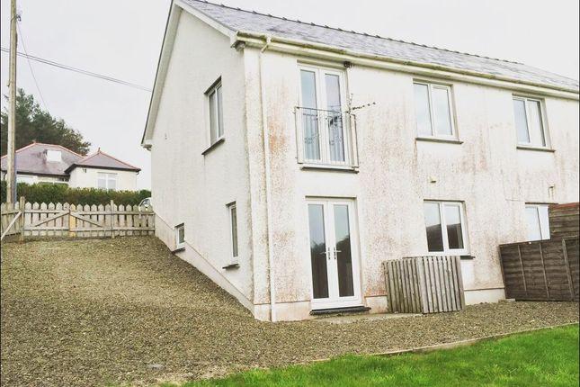 Thumbnail Semi-detached house to rent in Talgarreg, Llandysul