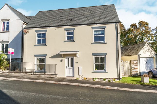 Thumbnail Detached house for sale in Grassmere Way, Pillmere, Saltash