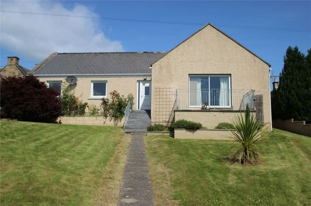 Thumbnail Detached bungalow to rent in East High Street, Elgin, Moray