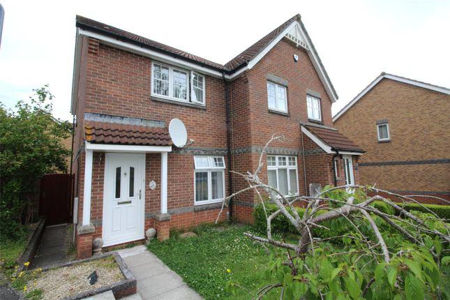 Thumbnail Semi-detached house to rent in Westbury View, Peasedown St. John, Bath, Avon