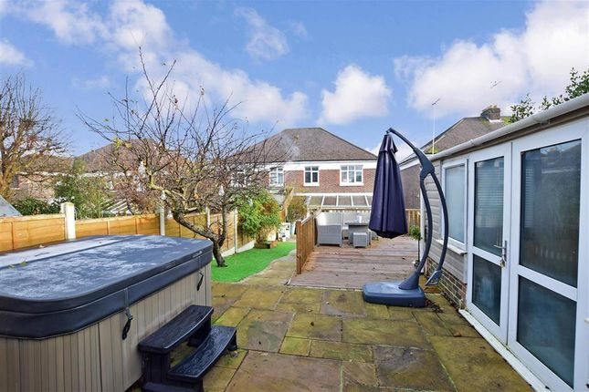 Rear Garden of Stakes Hill Road, Waterlooville, Hampshire PO7