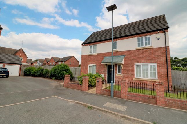 Thumbnail Detached house for sale in Anstey Fields, Birmingham