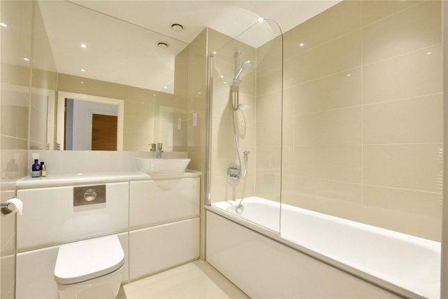 Bathroom of Bellville House, 2 John Donne Way, Greenwich, London SE10