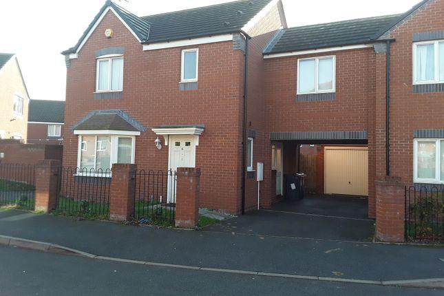 Thumbnail Detached house to rent in Plantbrook Crescent, Erdington, Birmingham