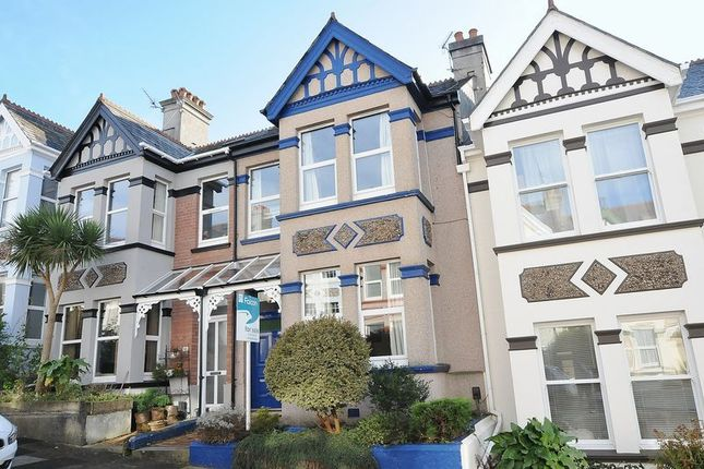 Thumbnail Terraced house for sale in Wembury Park Road, Peverell, Plymouth