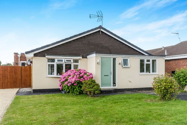 Thumbnail Detached bungalow for sale in Torwood Gardens, Bishopstoke, Eastleigh
