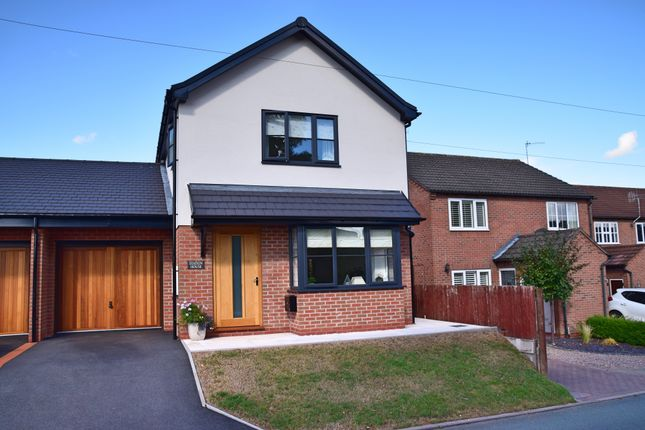 Thumbnail Link-detached house for sale in Green Lane, Eccleshall, Stafford