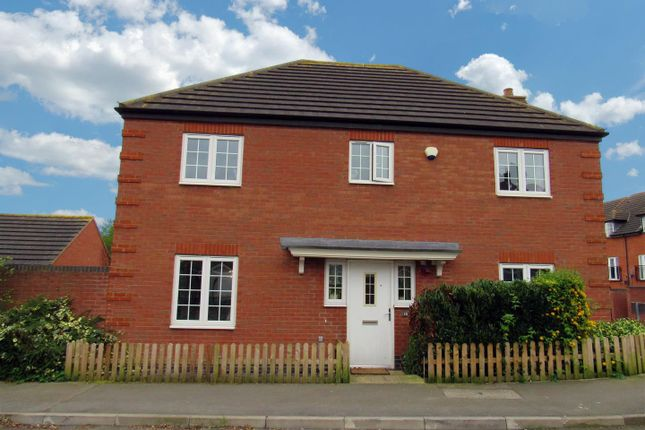 Thumbnail Detached house for sale in Kitchener Road, Anstey, Leicester