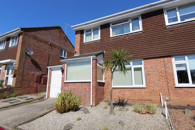Thumbnail Semi-detached house for sale in Trengrouse Avenue, Torpoint
