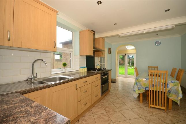 Thumbnail End terrace house for sale in Dalkeith Road, Ilford, Essex