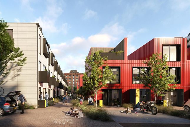 Thumbnail Town house for sale in Row House, East Float, Wirral Waters