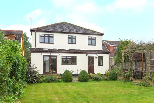 Thumbnail Detached house for sale in Ongar Road, Pilgrims Hatch, Brentwood, Essex