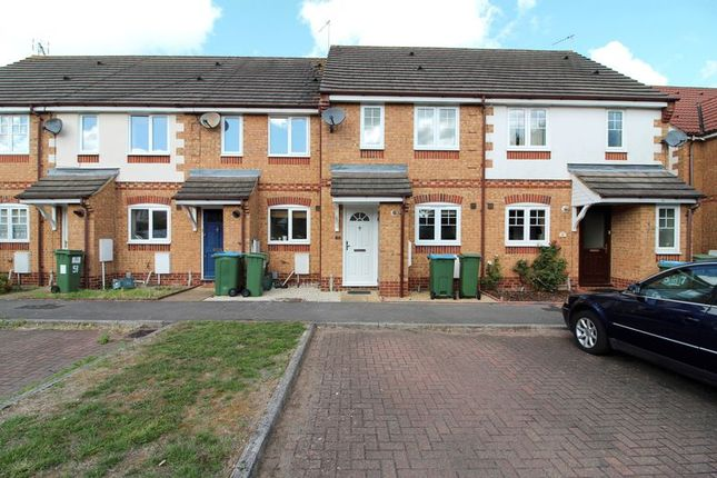 Thumbnail Terraced house to rent in Carnation Way, Aylesbury