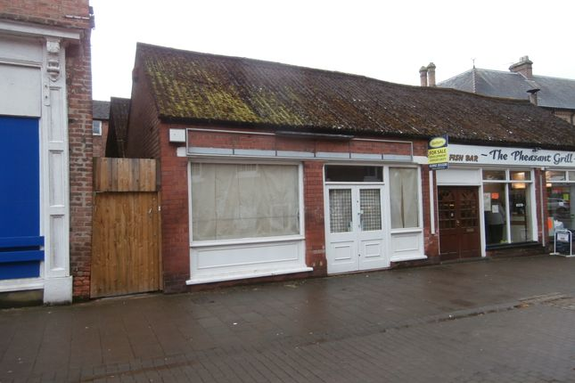Thumbnail Retail premises to let in 15A Queen Street, Market Drayton, Shropshire