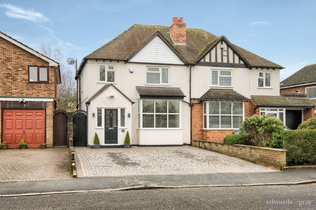 Thumbnail Semi-detached house for sale in Coleshill Road, Water Orton