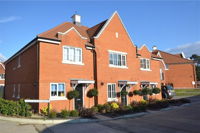 Thumbnail Terraced house for sale in Swallowtail Grove, Frimley, Camberley