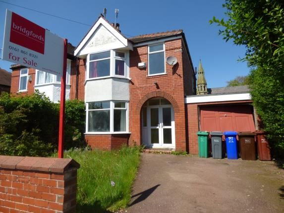 Thumbnail Semi-detached house for sale in Vicars Road, Manchester, Greater Manchester
