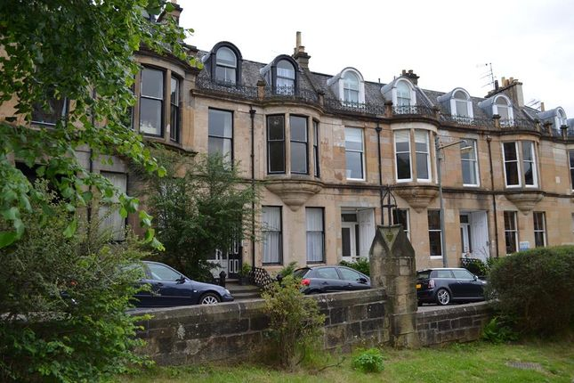 Thumbnail Flat to rent in 10 Grosvenor Crescent, Dowanhill, Glasgow