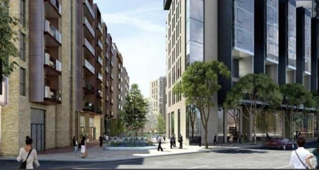Thumbnail Flat for sale in Carrara Tower, 250 City Road, London