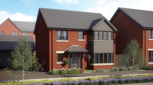 Thumbnail Detached house for sale in Wigan Road, Clayton Le Wood Leyland, Lancashire