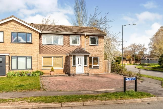 Thumbnail Semi-detached house for sale in Deansway, Woodloes Park, Warwick, Warwickshire