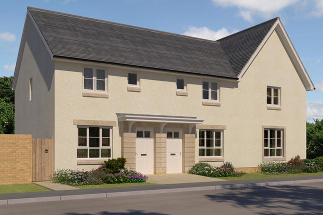 "Thumbnail End terrace house for sale in ""Fasque 2"" at Oldmeldrum Road, Inverurie"