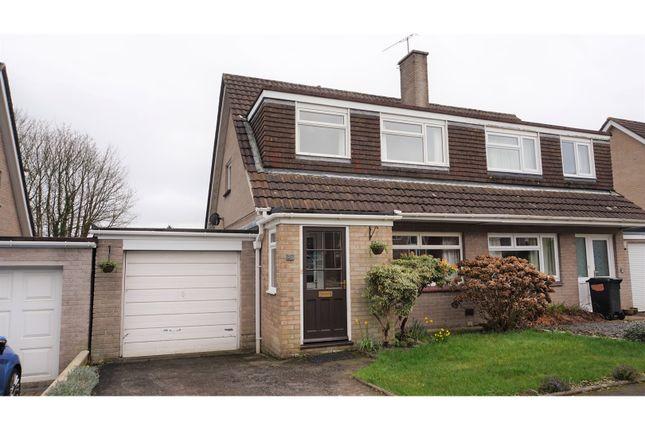 Thumbnail Semi-detached house for sale in Julian Road, Ivybridge