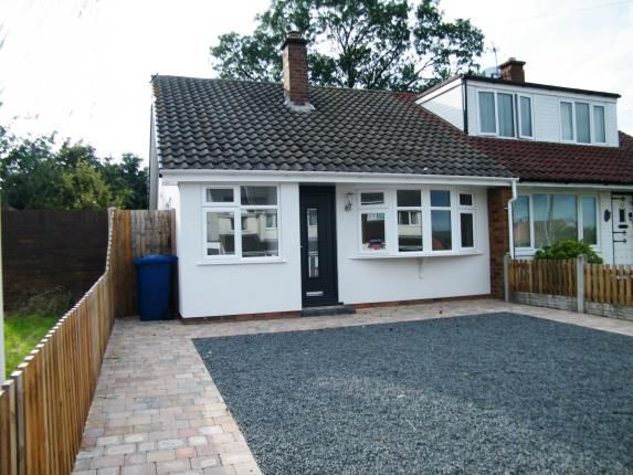 Thumbnail Bungalow for sale in St. Pauls Road, Burntwood, Staffordshire