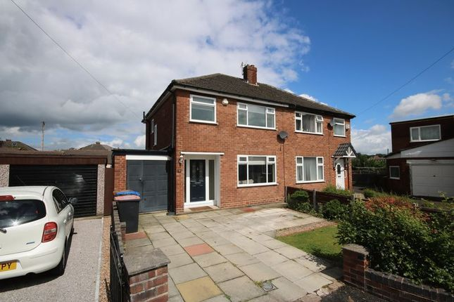 Thumbnail Semi-detached house for sale in Brook Grove, Irlam, Manchester
