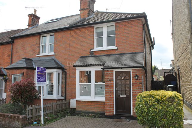 Thumbnail End terrace house to rent in Woburn Avenue, Theydon Bois