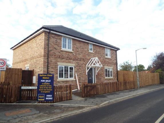 Thumbnail Detached house for sale in Saffron Close, Watton, Thetford